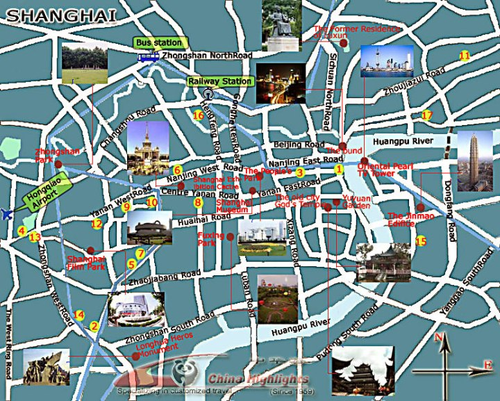 shanghai-tourist-map