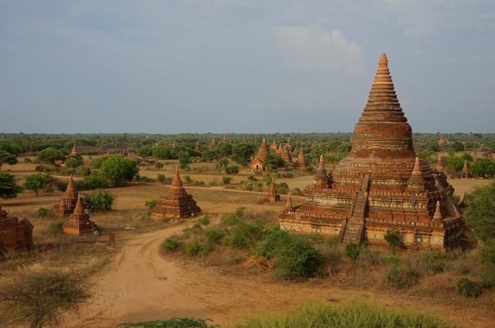 temple bagan en birmanie