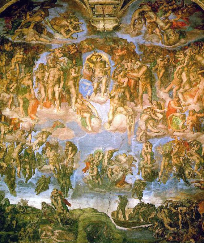 Michelangelo_-_Fresco_of_the_Last_Judgement