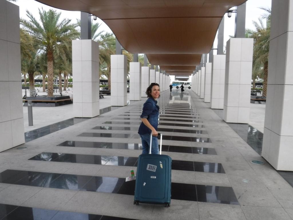 Arrivée dans cet aéroport presque ouatée après avoir récupéré une valise dupliquée